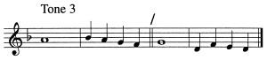 Psalm Tone 3