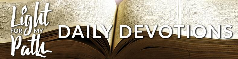 Sign up for Daily Devotions