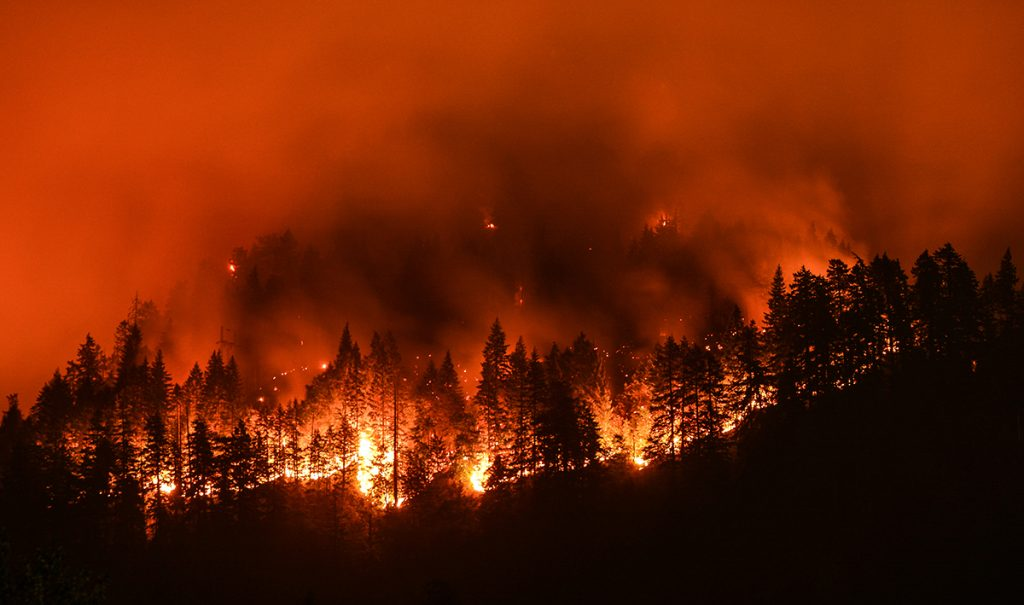 Prayer for All Affected by Western Wildfires