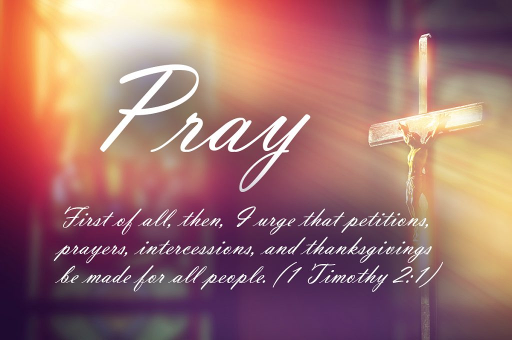 Prayer for President, Our Nation and Our World